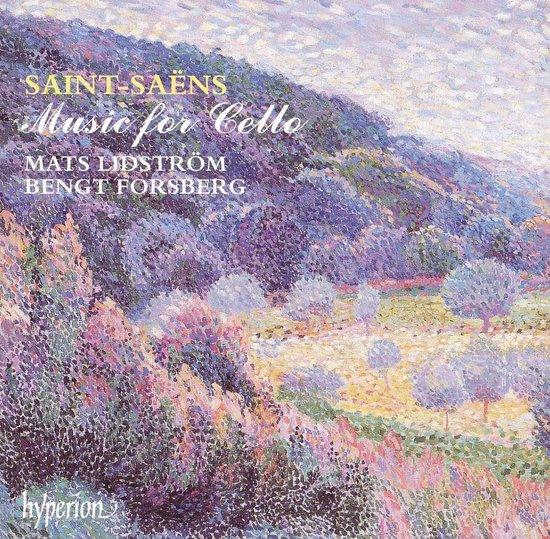 Saint-Saens: Music for Cello / Mats Lidstrom, Bengt Forsberg