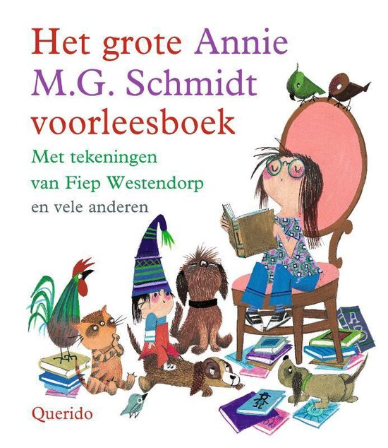 Afbeelding van Het grote Annie M.G. Schmidt voorleesboek