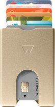 Walter Wallet Aluminium Creditcardhouder RFID protected - Goud