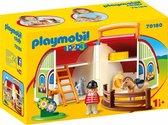 PLAYMOBIL 1.2.3 Mijn meeneem manege - 70180