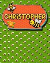 Handwriting Practice 120 Page Honey Bee Book Christopher