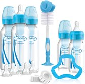 Dr. Brown's Options+ Anti-colic - Giftset Standaardfles - Blauw