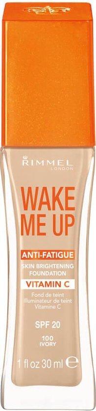 Rimmel Wake Me Up with Vitamine C SPF 20 Foundation - 100 Ivory - Foundation