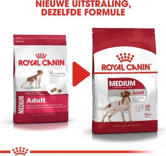 Royal Canin Medium Adult - Hondenvoer - 15+3 kg Bonusbag - Royal Canin