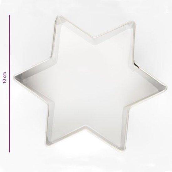 Koekjes Uitsteker Ster 10 cm