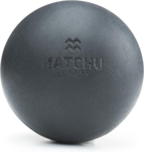 Matchu Sports - Lacrosse bal - Massage bal - Zwart
