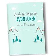 Heen en weer boekjes voor kinderopvang Creche -en oppasboek 2 stuks avonturen - invulboekje - peuter - gastouder - kinderopvang - creche - onthaalmoeder
