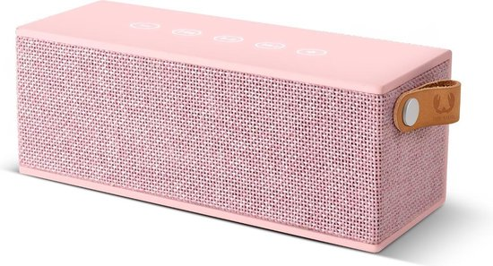 Fresh 'n Rebel Rockbox Brick Fabriq - Draadloze Bluetooth Speaker - Roze
