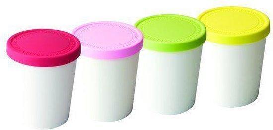 Tovolo Bewaarbox - Mini - Voor ijs - Assorti - Set van 4 stuks