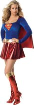 Supergirl - Carnavalskleding - Maat M - Rood