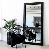 Moodadventures | Exclusives | Spiegels | Lijst Hout Zwart | 200x100 cm.