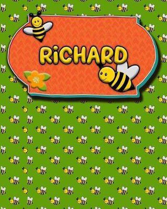 Handwriting Practice 120 Page Honey Bee Book Richard