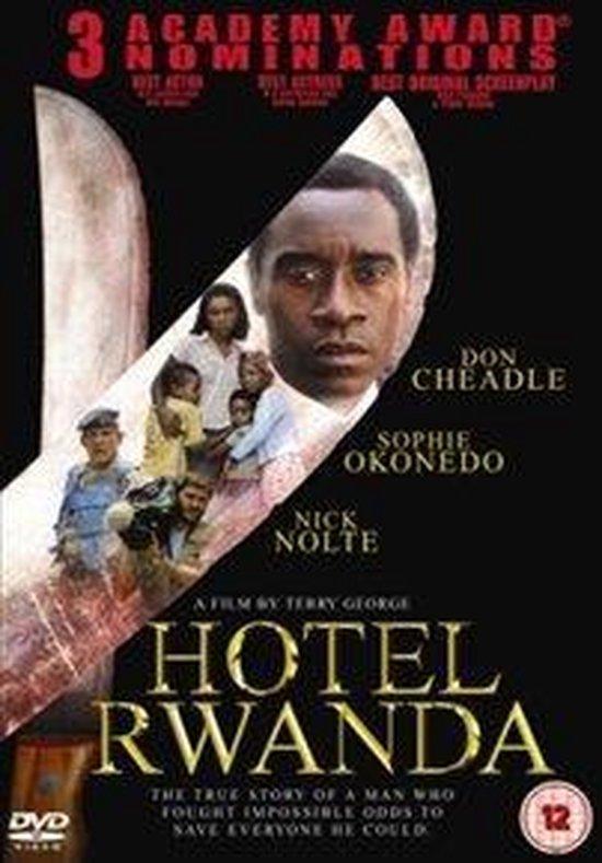 Cover van de film 'Hotel Rwanda'