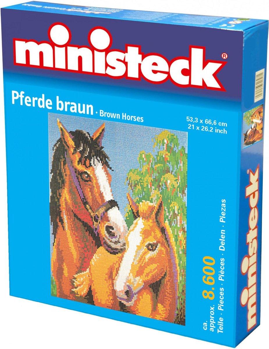 Ministeck: Bruin Paard, ca. 8600 delen