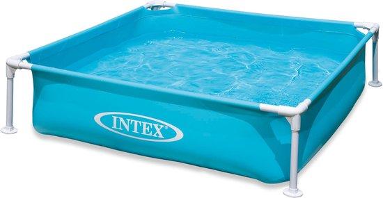 Afbeelding van Intex - mini frame zwembad - 122x122 cm - Opzetzwembad
