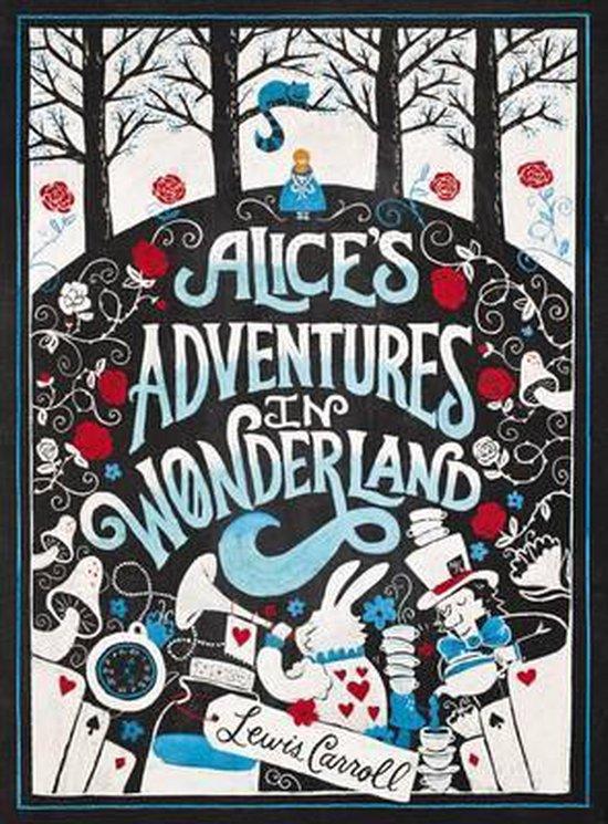 Boek cover Alices Adventures in Wonderland van Lewis Carroll (Paperback)