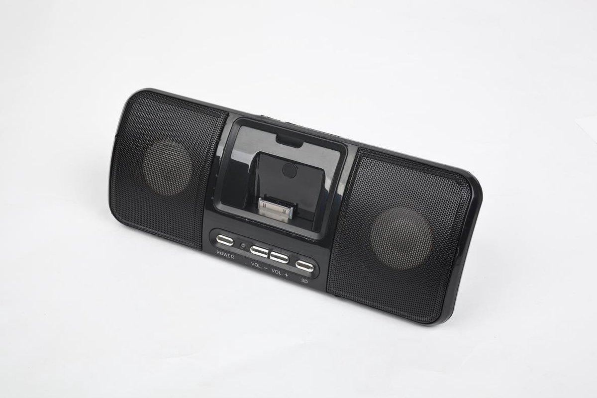 Gembird SPK321i portabler Lautsprecher mit Universal-Dock