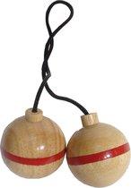 Bex Spinladder Reservebal Rood - Rubberhout