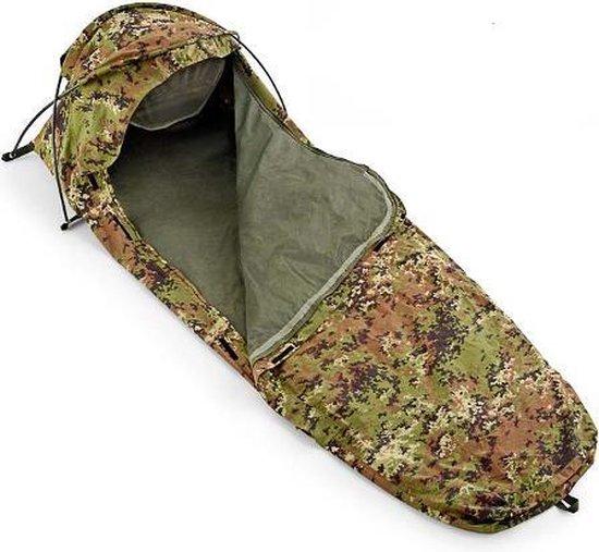 Defcon 5 Bivi Tent Bivvy Bag 1700 Gram - Camo - 1 Persoons