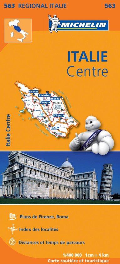 Regionaal kaart 563 Italie Centre - Midden-Italië - none pdf epub