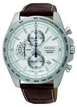 Seiko SSB263P1 horloge heren - bruin - edelstaal