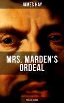 Omslag MRS. MARDEN'S ORDEAL (Thriller Classic)