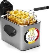 1900 - M3000 Metal 2000 Watt RVS koude zone 2,5 L friteuse