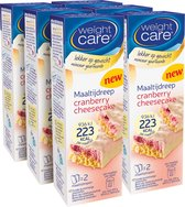 Weight Care Maaltijdrepen - Cranberry Cheesecake - 6 x 2 stuks