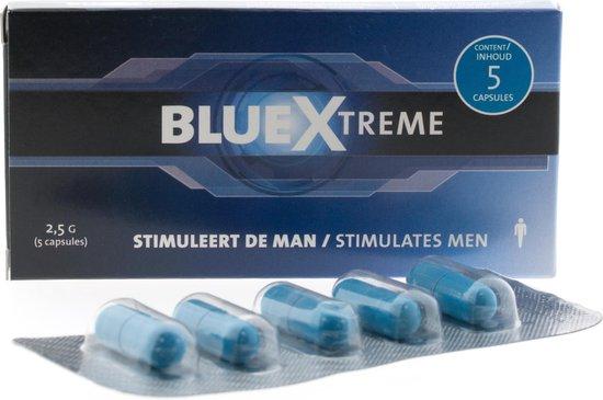 BlueXtreme 5 Capsules - Libido Verhoger
