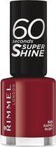 Rimmel London 60 Seconds Supershine Nagellak - 320 Rapid Ruby