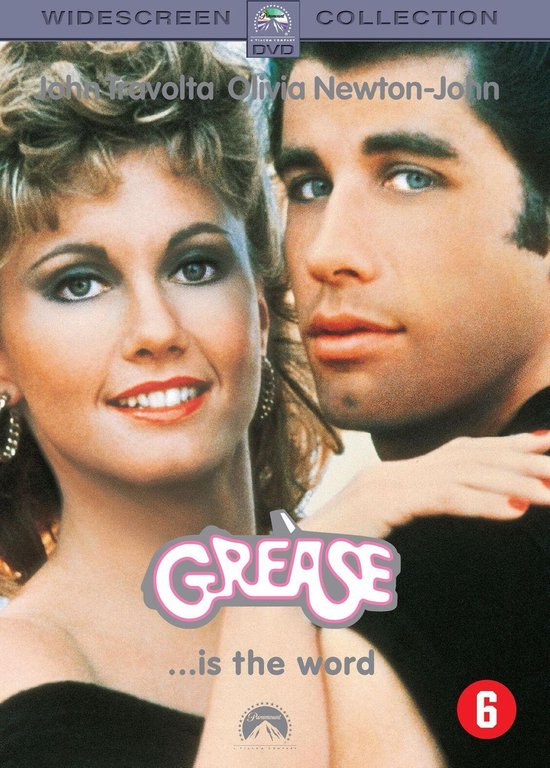 Cover van de film 'Grease'