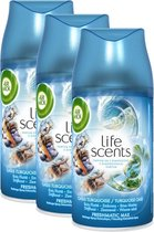 Air Wick Freshmatic Life Scents Turquoise Oase Luchtverfrisser - Navulling - 3x250ml