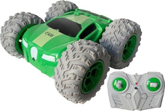 Afbeelding van RC Stuntracer groen 1:18