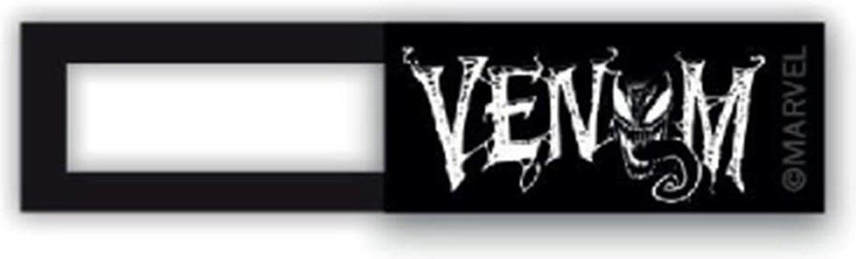 Webcam cover - licentie™ - VENOM 01 - zwart