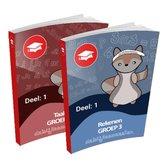 Oefenboeken -  Groep 3 - Alle Onderdelen - Deel 1 - Cito - Oefenen - Kinderen - Boeken - Leren - School - Kinderen - Oefenschrift - Studeren - Leuke Teksten - Citotoets - LVS geschikt