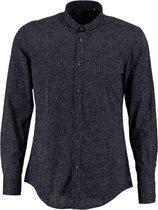 Antony morato donkerblauw slim fit overhemd valt kleiner - Maat S