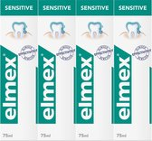 Afbeelding van Elmex Sensitive Tandpasta 4x 75 ml