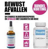 Calorietje Bio HCG Afslankdruppels & TimFit Chrome++