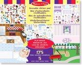 Melissa & Doug Stickerboek met herbruikbare stickers - Play House 175 Stickers