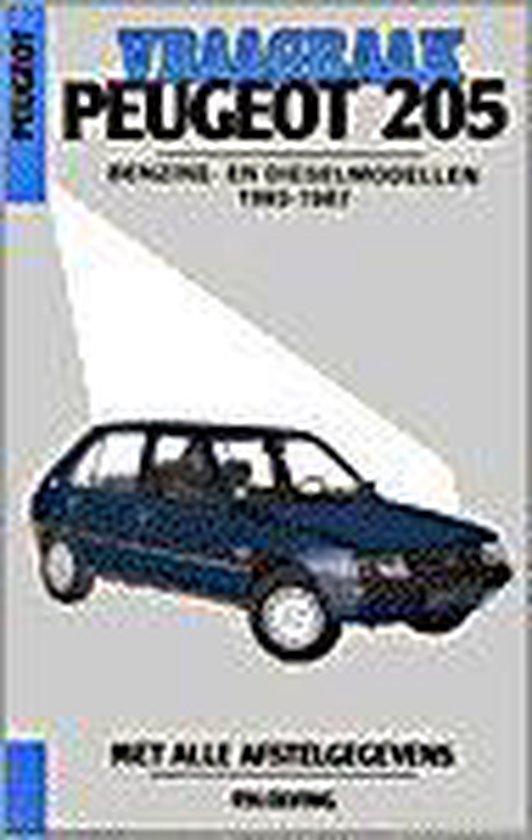 VRAAGBAAK PEUGEOT 205 1983-1987 - Olving |