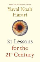 Boekomslag van '21 Lessons for the 21st Century'