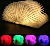 Boek lamp LED licht - 7 kleuren - 3 verschillende standen