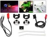 LED Lights/ harness (2 red lights)/LED housing (2) /housing