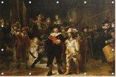 Nachtwacht   Rembrandt van Rijn   Kunst   Tuindoek   Tuindecoratie   90CM x 60CM   Tuinposter