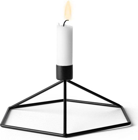 Menu POV Table kaarsenstandaard zwart