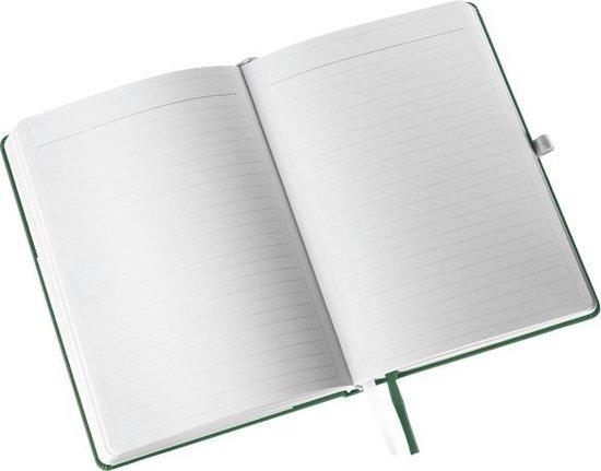 Leitz Notitieboek Style - A5 formaat - Harde gebonden kaft - gelijnd - zee groen - Leitz