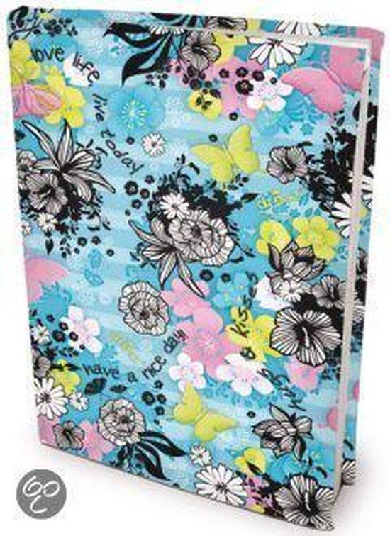 Afbeelding van Benza Rekbare Boekenkaften - Flowers A4 speelgoed