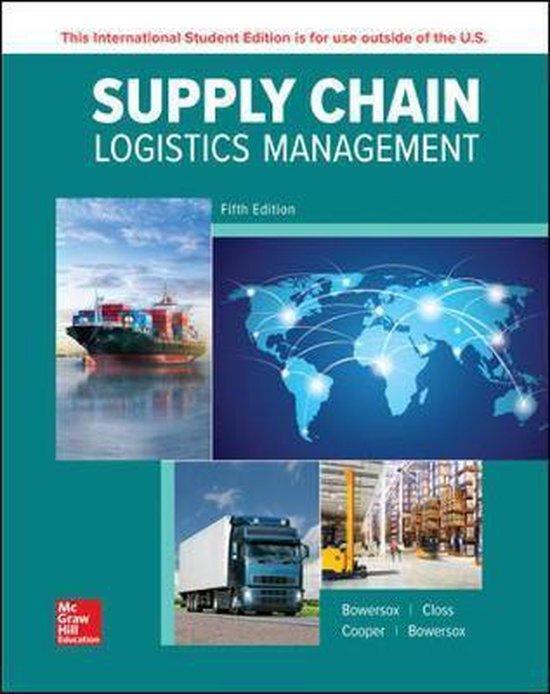 Boek cover ISE Supply Chain Logistics Management van Donald Bowersox (Paperback)