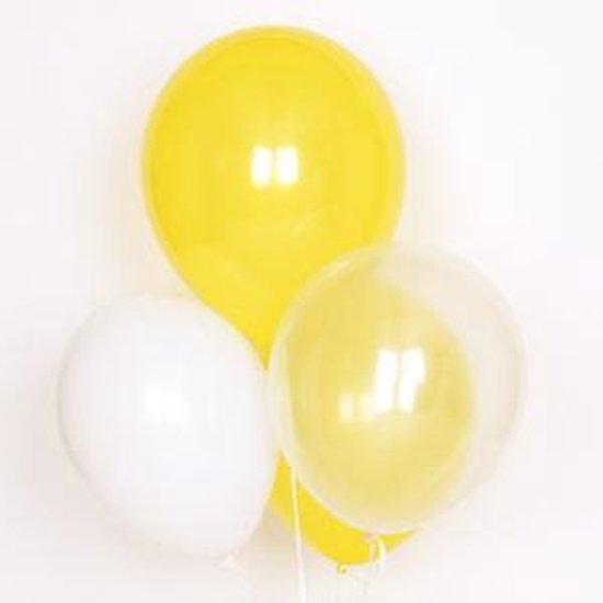 My Little Day - Ballonnen - Mix Geel - 10 stuks - 30cm