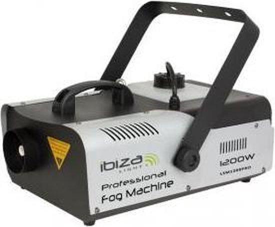 Ibiza Light - Professionele Programmeerbare Rookmachine met DMX - 1200W